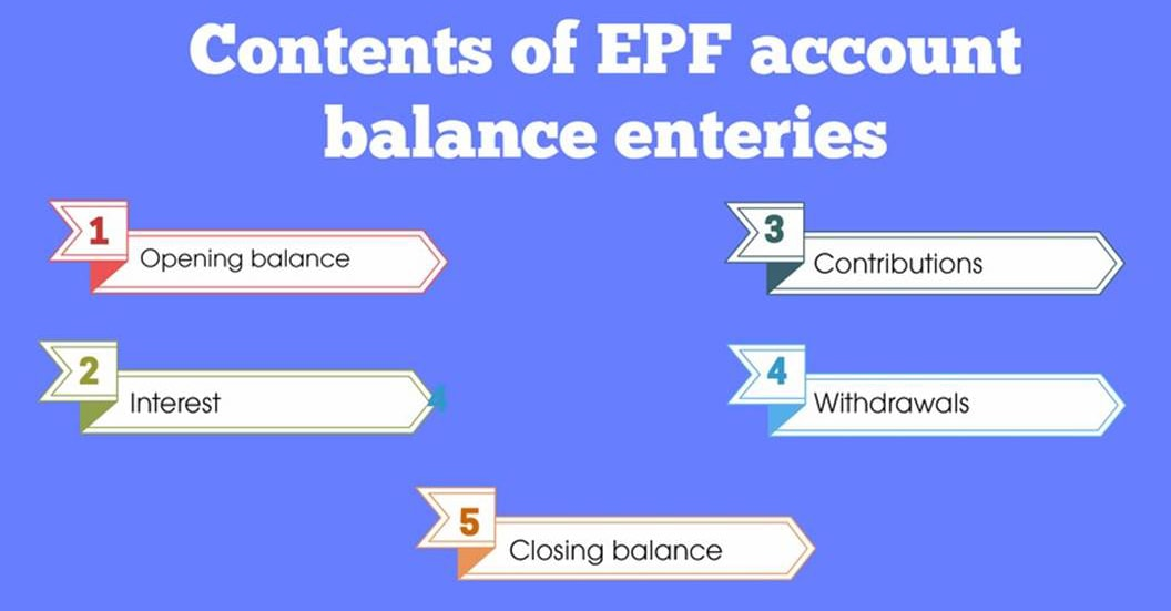 EPF account
