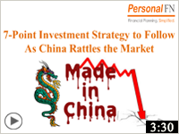 7-Point Investment Strategy to Follow As China Rattles the Market