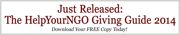 The HelpYourNGO Giving Guide 2014